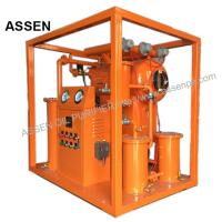 Quality Economic type High vacuum Insulating Oil Purifying System,Portable Transformer Oil Purifier machine for sale