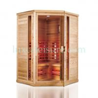 Buy cheap BZ10R Good quality corner Infrared Sauna Cabin product