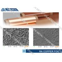 Quality Flexible Copper Clad Laminate RA Copper Foil Thickness 10~70µm for sale