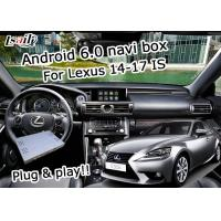 Quality GPS Android navigation box Lexus IS200t IS300h knob mouse control waze youtube Google play for sale