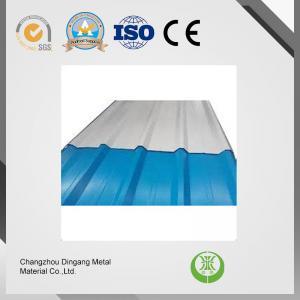 Anti - Finger Print Galvalume Steel Coil , Color Coated Galvalume Sheet For Sheds / Ventilators