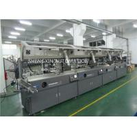 Buy cheap Round Surface Screen Print Machine 4000Pcs / Hr With Visual Detection product