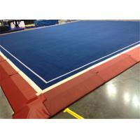 Buy cheap Hot sale roll carpet cheerleading floor mat/gymnastic mat/folding gymnastic mat from wholesalers