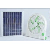 Quality Rechargeable Solar Fan (ST-12V10Q) for sale