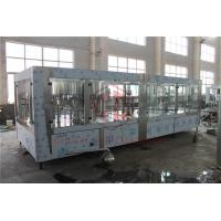 Quality Gravity Plastic Bottle Filling Machine With Shrink Wrapping Equipment  4 in 1 for sale