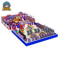 China Kids play area indoor children playground equipment Naughty Castle on sale