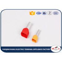 Quality Red , Yellow , Blue Wire Connectors Terminals Copper With Tin Plated for sale