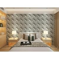 Quality Contemporary Interior 3D Textured Wall Panels Home or Commercial Decoration Wallpaper for sale