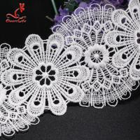 Buy cheap Wholesale Lace Trim Stretch Lace Trim Flat Lace Trim Flower Embroidery from wholesalers