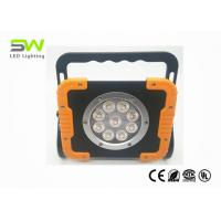 Quality Waterproof Rechargeable LED Work Light With Rotating Stand And Handle for sale