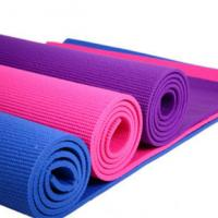 Quality Gym Customized ECO Yoga Mat Soft Rubber Non Slip 8mm Yoga Mat in Red for sale