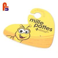 Quality Yellow Cute Bee Coat Suit Cloth Clothing Custom Cardboard Hangers for sale