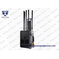 Quality VIP Security Cell Phone Signal Jammer 300W 6 Channels With Built In Efficient Cooling Fan for sale