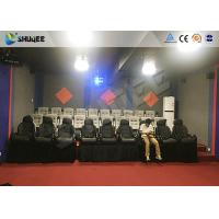 Buy cheap Amusement Park 7D Cinema System With Dynamic Motion Base ,3Degrees of Freedom product