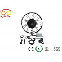 Quality 36V / 48V 500W Brushless Gearless Hub Motor Kit For Electric Bikes for sale