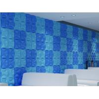 Quality Hotel Hallways Decorative Interior / Exterior 3D  Wall Panels for Entertainment Wall Decals for sale