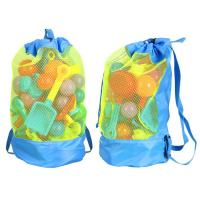 Quality Durable Monofin Backpack Toys Balls Storage Bags Thick Nylon Mesh Construction for sale