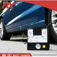 Quality Powerful Motor Car Tire Inflator Air Compressor , 12V Tyre Inflator120W 10A Pump for sale