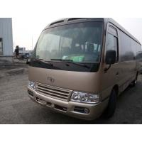 Quality 100% original japan toyota coaster city  bus 6 cyliner diesel engine buses left hand drive 30 seats for sale