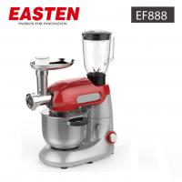 Quality Easten Kitchen Plastic Stand Food Mixer EF888/ 1000W Electric Dough CakeStandMixer With Meat Grinder for sale