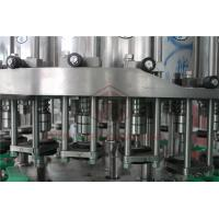 Quality Metal Screw Cap Bottle Filling And Capping Machine / Hot Juice Glass Bottle Filler for sale