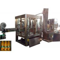 Buy cheap 15000bph Beverage Filling Machine , Small Bottle Filling And Capping Machine from wholesalers