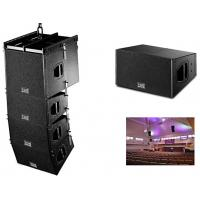 China Compact 10 Line Array Audio for Church Sound Systems 1200w LF Elegant Design on sale