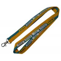 Quality Advertisement Logo Printed Lanyard Heated Transfer Printing  Custom Shape for sale
