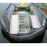 Cheap Large gray amusement park rides PVC Inflatable Boat , inflatable yacht wholesale