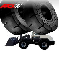 Quality Wheel Loader Solid Tire for Terex Vehicle 15.5-25, 17.5-25, 20.5-25, 23.5-25, 26.5-25, 29.5-25 for sale