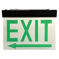 Quality Automatic Maintained Double Sided Exit Signs For Ceiling Surface Suspended for sale