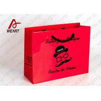 Buy cheap Glass Matt Medium Art Paper Bags With White PP Rope 35 X 12 X 30cm product