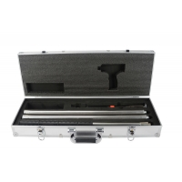 Quality Large aluminum tools case with PE foam silver tool box portable handle for sale