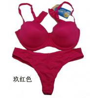 Buy cheap Bamboo Fiber / Cotton / Spandex Charming OEM ODM Matching Bra And Underwear Sets For Women product