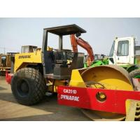 Quality Open Cabin Used Road Roller , New Paint Drum Roller Compactor Dynapac CA251D for sale