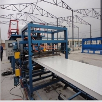 China Fully Automatic Polyurethane Pu Sandwich Panel Production Line on sale
