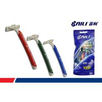 Buy Black 3 Count Slim Twin Disposable Razors For Men Sensitive Skin at wholesale prices
