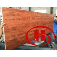 Quality wood and plastic wpc door board vacuum laminate machine for sale