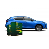 Quality Forest Bright Blue 1K Basecoat Pearlescent Car Paint for sale
