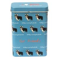Buy cheap Milk Candy Tin Container , Food Packaging  Box With Top Hinge On Lid,4 Color Process Printing product