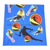 Quality Fashion Printed Logo Headscarf with Polyester Material, Multi-color, Good Use for Outdoor Activities for sale