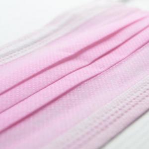 Quality Pink Color Nose Clip 50PCS CE Earloop Face Mask for sale