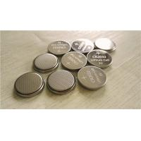 China Rechargeable 3V Coin Type Batteries Lithium Manganese  For Audio Record on sale