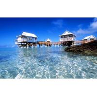 Buy AS / NZS 4600 Resort Overwater Bungalow For Family House / Villa at wholesale prices