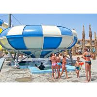 Quality Interesting Bowl Water Slide 26 X 40 M Size Water Park Playground Equipment for sale