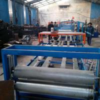 Quality EPS Sandwich Wall Panel Forming Machine Fireproof Mgo Wall Board Making Machine for sale