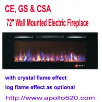 "Buy cheap 72"" Wall Mounted Electric Fireplace from wholesalers"