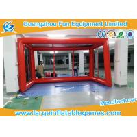 Buy cheap Air tighted inflatable football goal post , giant bubble football goal post , sport games product