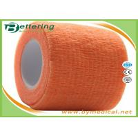Self Adhering Coflex Elastic Cohesive Bandage / First Aid Tape For Healthcare