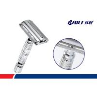 Quality Long Handle Butterfly Opening Safety Razor Super Heavyweight  5 Chrome Blades for sale